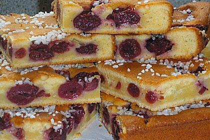 Kirsch - Schmand - Kuchen (Rezept mit Bild) von Cha-Cha | Chefkoch.de