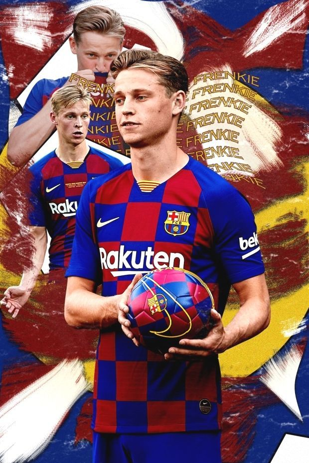Frenkie De Jong Barcelona Digital Art Photo Manipulation Bvb Football Wallpaper Frenkie Jong Barcelona Football Football Poster Lionel Messi Barcelona