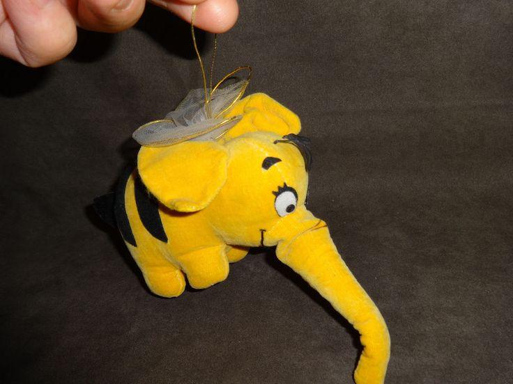 1964 Gund Heffalump As Flying Bee Winnie The Pooh Woodchip