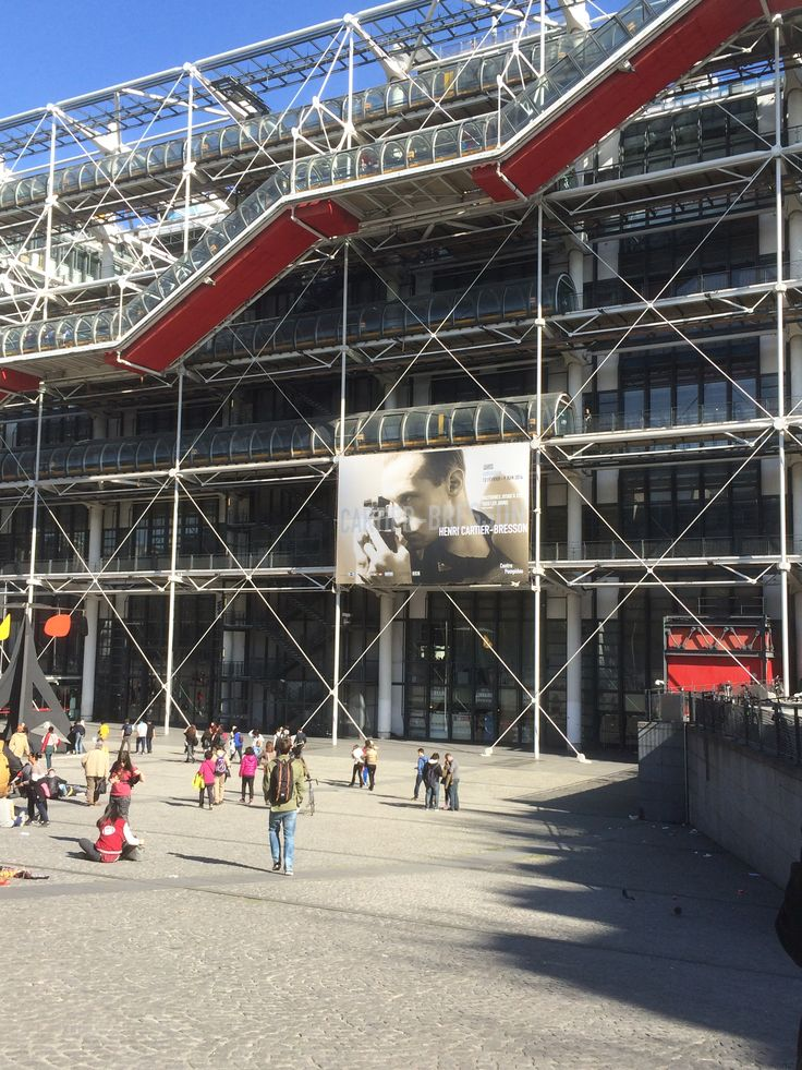 Beaubourg - Expo Henri Cartier-Bresson
