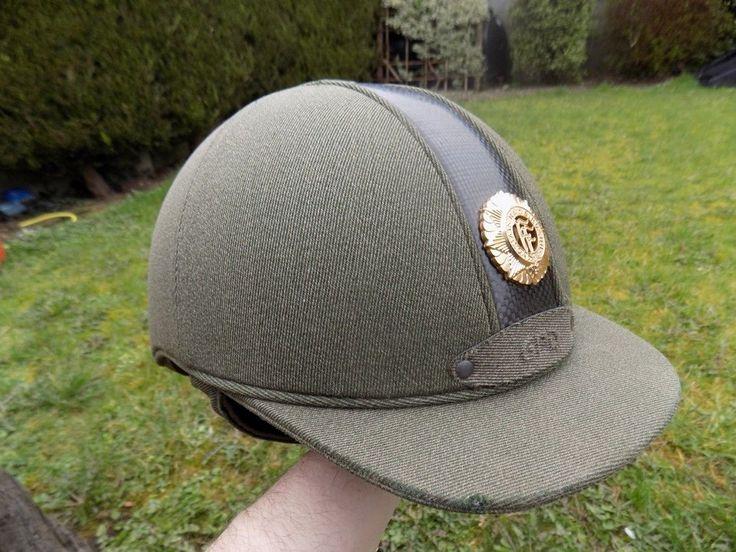 Irish Officer's School of Equitation uniform horse riding helmet   Collectables, Militaria, Surplus/ Equipment   eBay!