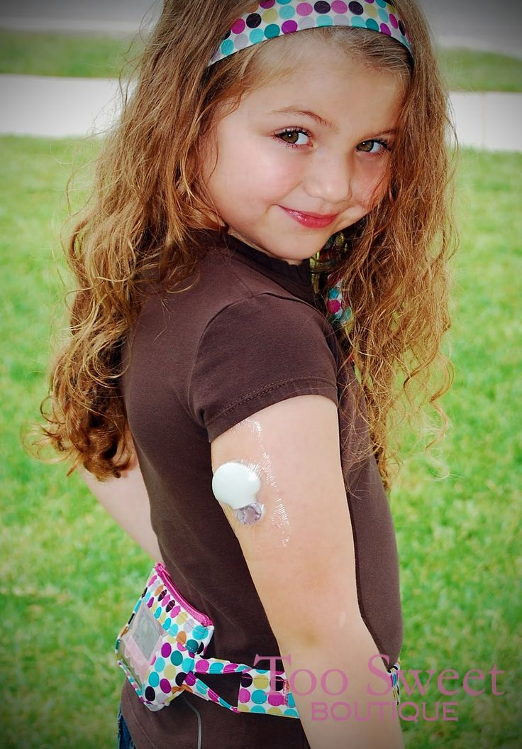 colorfully courageous! insulin pump on a type1 diabetic girl....what a cutie!