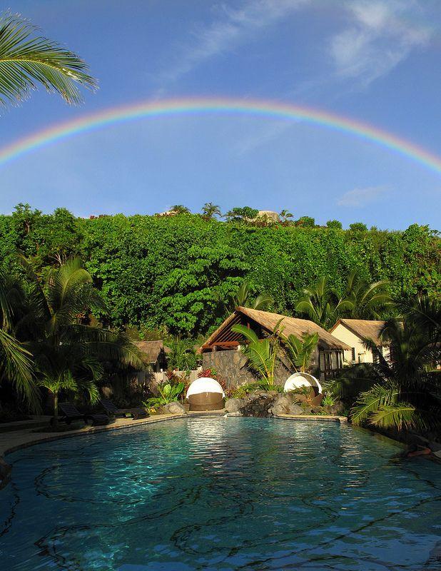Samoa Rainbow, Seabreeze Upolu, Samoa