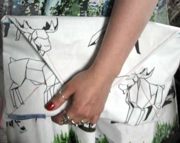 Envelope Clutch Bag Tutorial