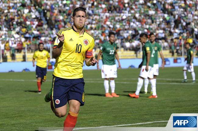 Blog Noticias al Minuto: James llegó a su gol 100 y rompe una marca de Falcao en Colombia
