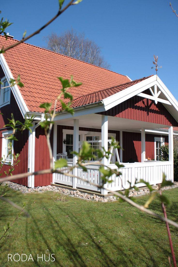 Schwedenhaus mit veranda  Die 57 besten Bilder zu My Home auf Pinterest | Gärten, Heu und ...