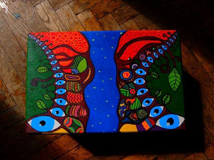 Magic River box by Luiza Poreda