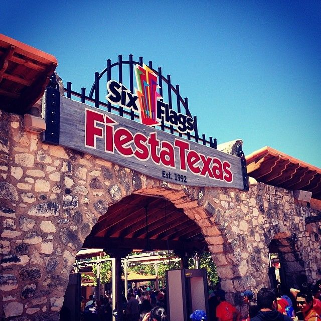 Six Flags Fiesta Texas in San Antonio, TX