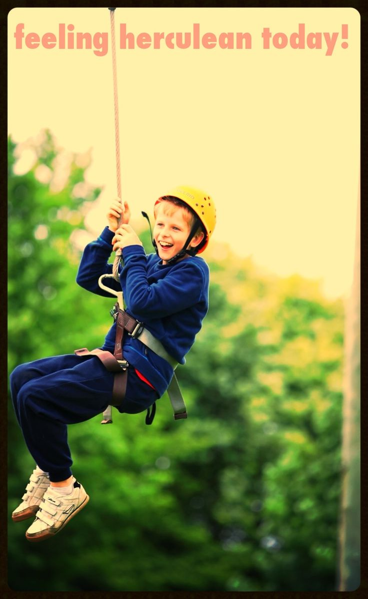 Make your kids feel amazing with a bit of a healthy Adrenalin hit through awesome sports like rock climbing, hang gliding, surfing, skating :D Through this they overcome challenges and fears and gain confidence! Let them have fun and be free ! Check out my board for more kid friendly sport and fitness inspiration :D