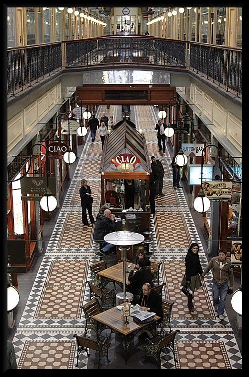 Adelaide in South Australia has charming Victorian style arcades that will take you back in time.