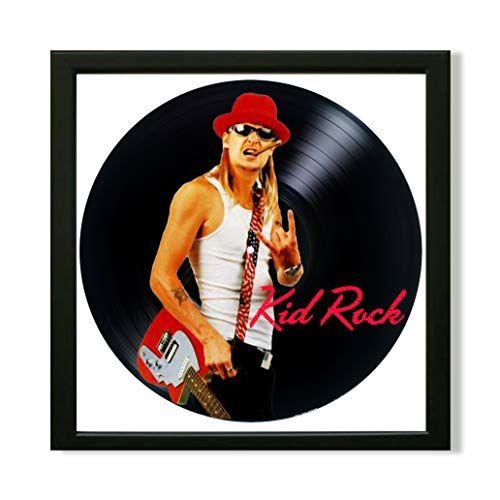 Kid Rock Framed Decor Vinyl 13 8x13 8 Kid Rock Kid Rock Https Www Amazon Com Dp B07j4882t5 Ref Cm Sw R Pi Awdb T1 X Z0kddbt Kid Rock Music Record Movies