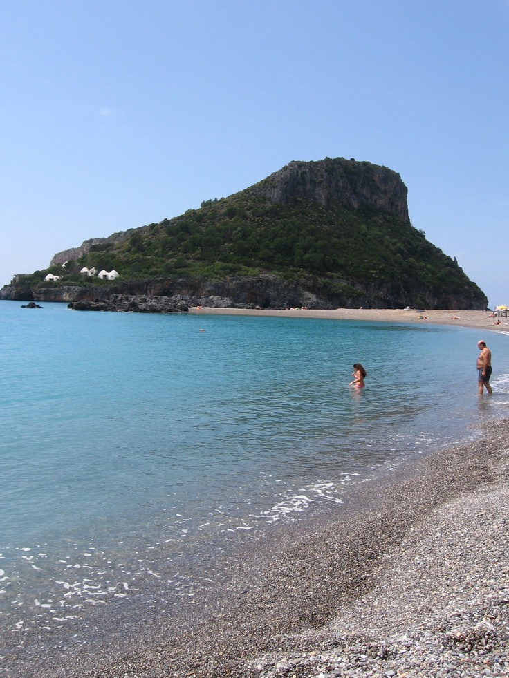 praia a mare, calabria - such a different experience swimming in italy