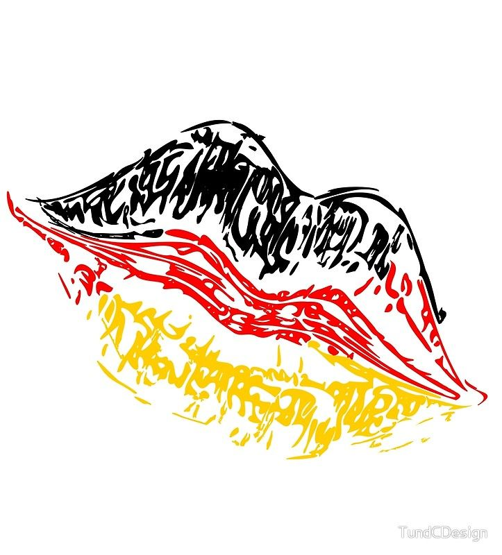 Kussmund Deutschland Armelloses Top Von Tundcdesign