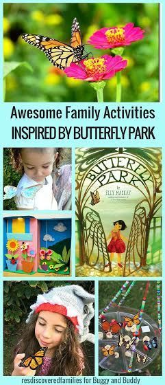 Butterfly Activities for Kids and Families inspired by the children's book, Butterfly Park by Elly MacKay! (Including butterfly crafts, hands-on science activities and more!)