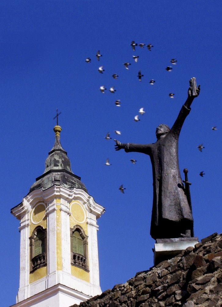 Vác, Hungary: Középkori várfal