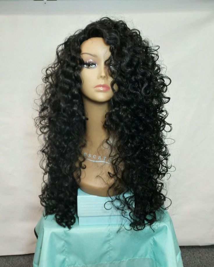 Stupendous 25 Best Ideas About Curly Wigs On Pinterest Hair Laid Weave Short Hairstyles For Black Women Fulllsitofus