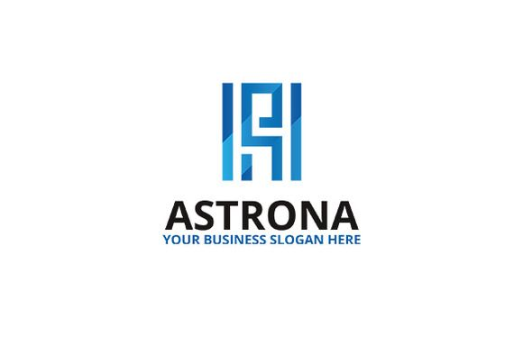 Astrona Logo by atsar on Creative Market