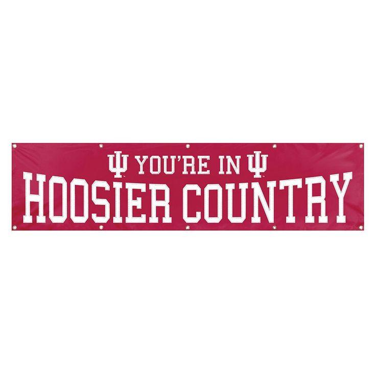 Indiana Hoosiers Giant Banner, Multicolor