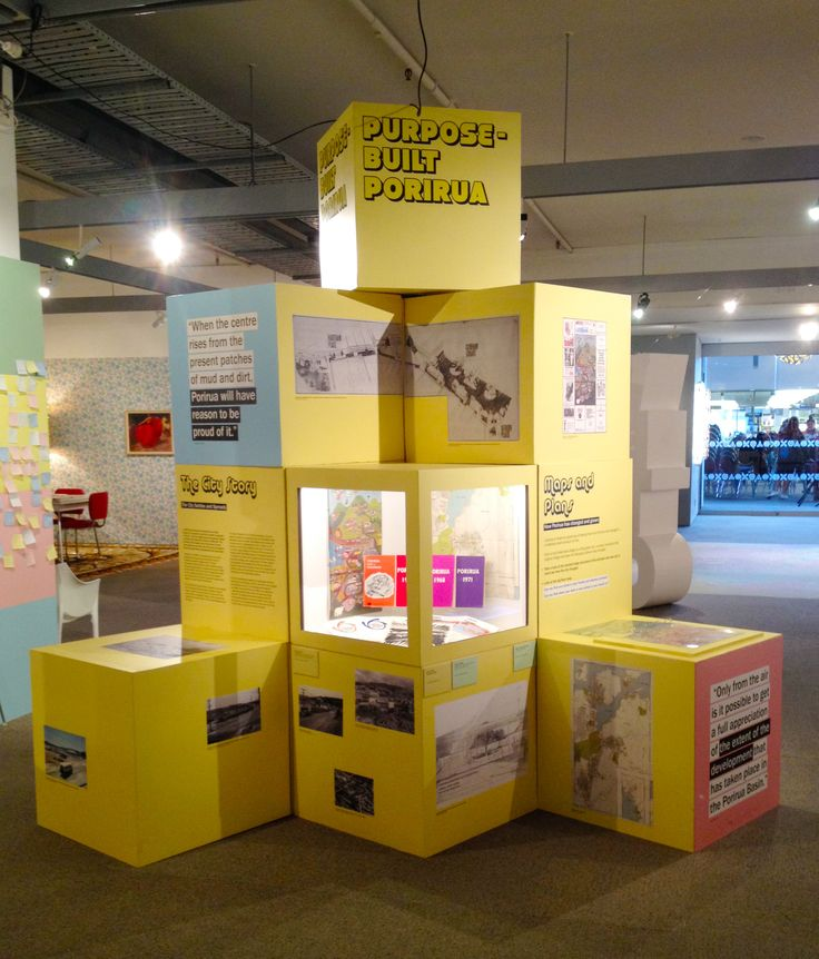 We Built This City exhibition at Pataka Art + Museum in Porirua NZ #boxes