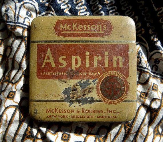 Vintage Aspirin Tin.