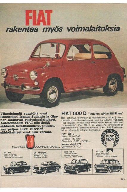 Fiat,600, Apu 9/1967