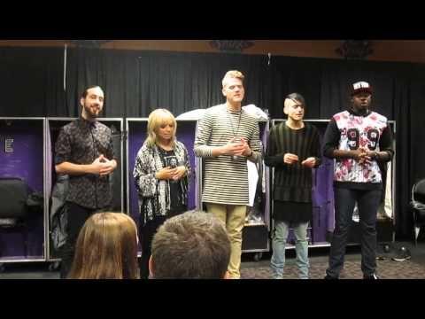 Pentatonix   Valentine Private Performance   Staples Center LA 8/19/15    YouTube