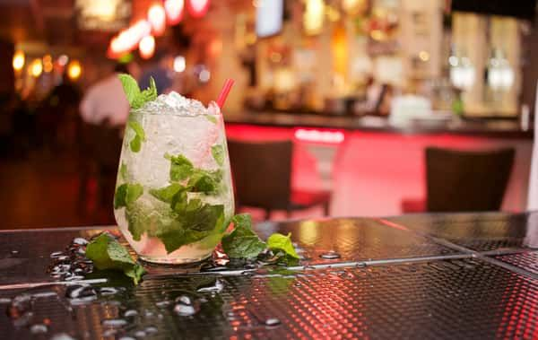 A cocktail on a bar | Enjoy amazing cocktails and an awesome atmosphere into maybe the best bar of Warsaw