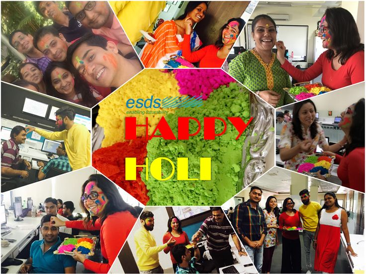 It is the synergy of colors in a rainbow which makes it beautiful. This holi let's all synergize and create a colorful work culture.   #Holi #ColoursOfLife
