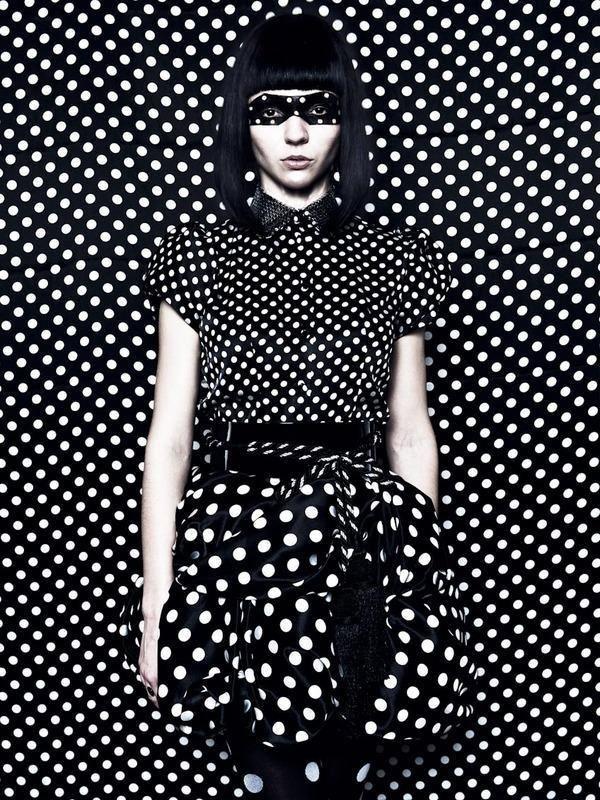 Seeing spots. love polka dots!