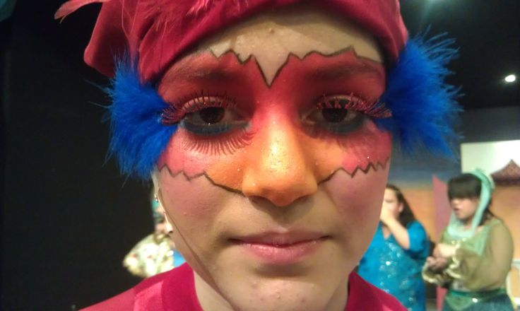 """Aladdin Play Makeup  """"Iago"""""""