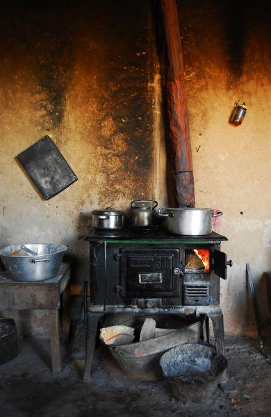 M s de 1000 ideas sobre estufas antiguas de cocina en - Cocinas con horno de lena ...