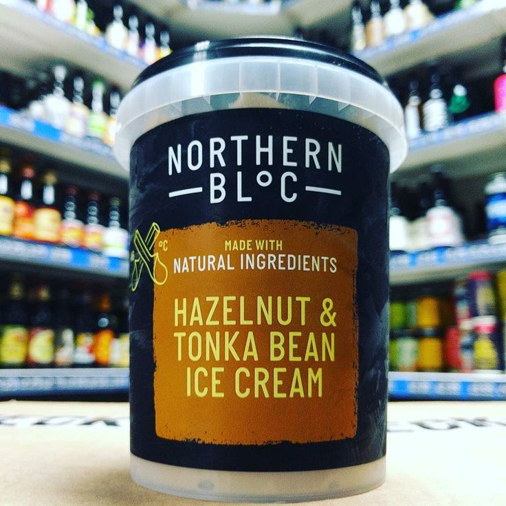 New flavour Ice Cream - Hazelnut & Tonka Bean from @northern_bloc ...