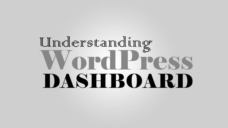 Understanding #WordPress 3.5 Dashboard layout & sections