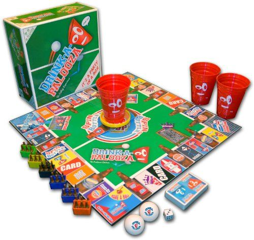 Drink-A-Palooza® Drinking Board Game: The College Experience