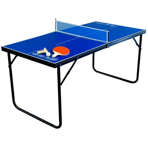 Portable tennis ping pong table mini folding outdoor - What is the size of a ping pong table ...