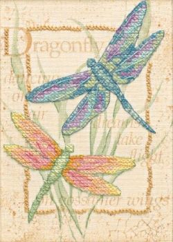 dragonfly cross stitch - I am actually working on this, but will I ever finish ...