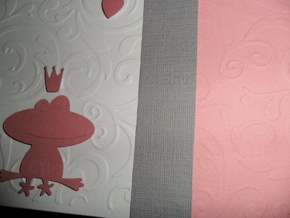 The frog princess  1 card & envelope