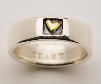 Alan Ardiff jewelry - this is the Heart of Gold ring to match my neckless :-)