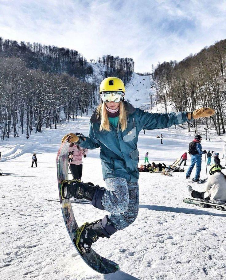 Картинки, картинки сноубордиста девушки