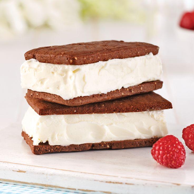 En étapes: sandwichs à la crème glacée maison - En étapes - Cuisine et nutrition - Pratico Pratique