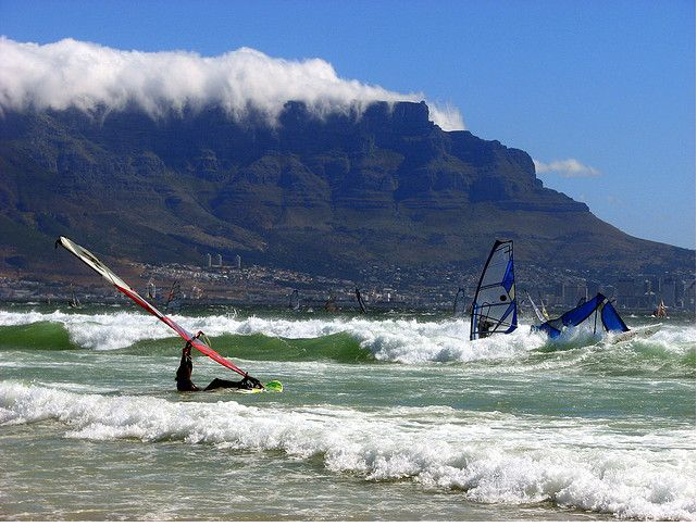 Cape Town, South Africa - watersports