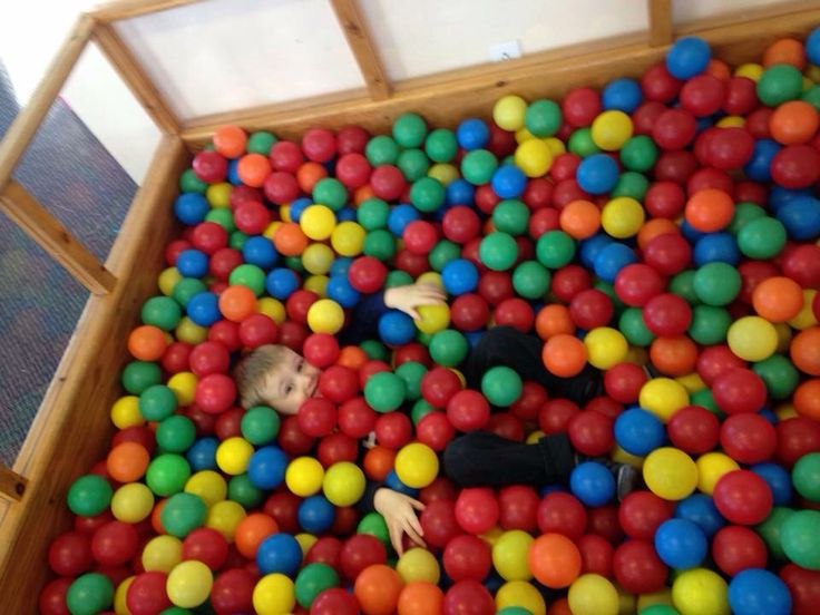 Ball pit (Toopy and binoo birthday party)