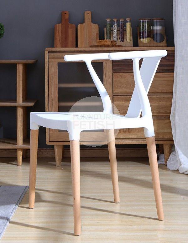 Wishbone Style Dining Chair