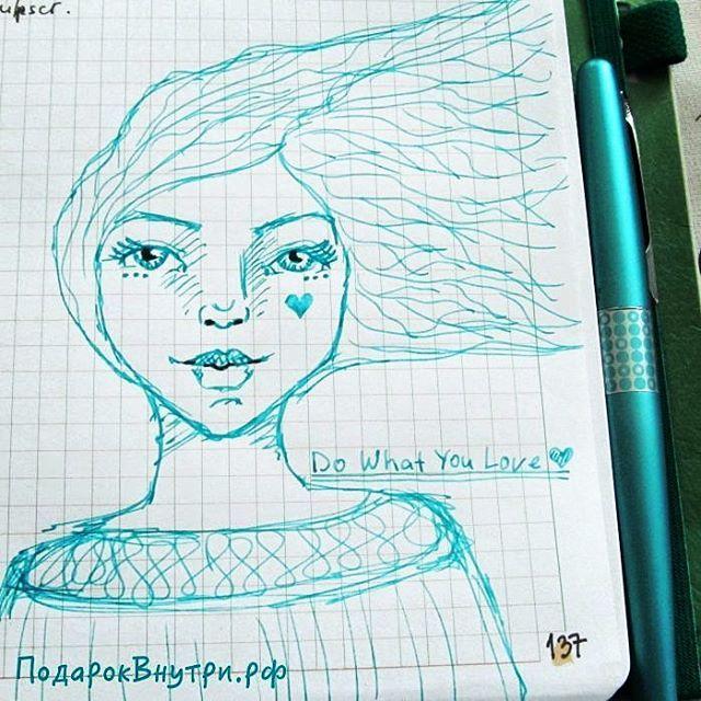Рисуем лица - перьеваяиручка - 26 отметок «Нравится», 1 комментариев — Наталья&Студия [ПодарокВнутри] (@podarokv) в Instagram: «Доброе утро! Мое творчество с #перьеваяручка началось с любимого занятия - рисование лиц девушек :)…»