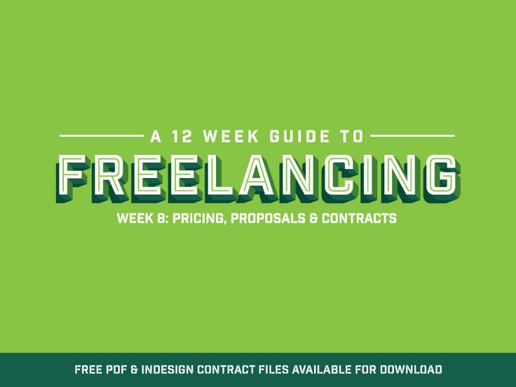 Freelance Contract Templates - FREE Download by Peter Deltondo - freelance contract templates