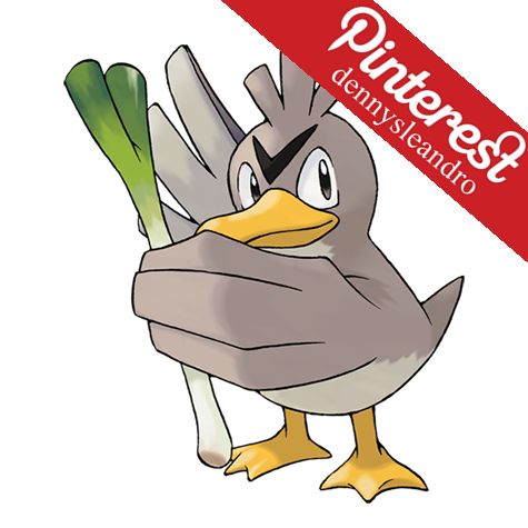 Farfetch'd is always seen with a stalk from a plant of some sort. Apparently, there are good stalks and bad stalks. This Pokémon has been known to fight with others over stalks. #083