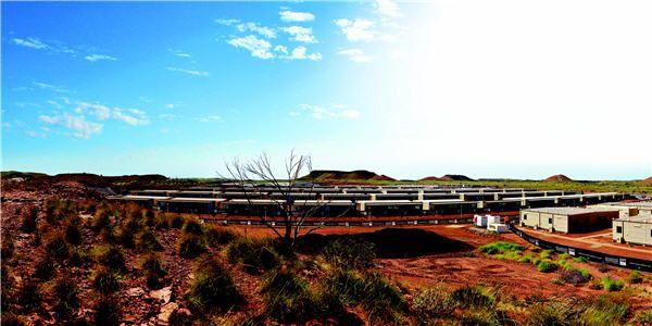 What a $200m mine camp looks like