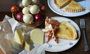 Rachel Roddy's take on classic cheese and onion pie recipe | A kitchen in Rome | Life and style | The Guardian