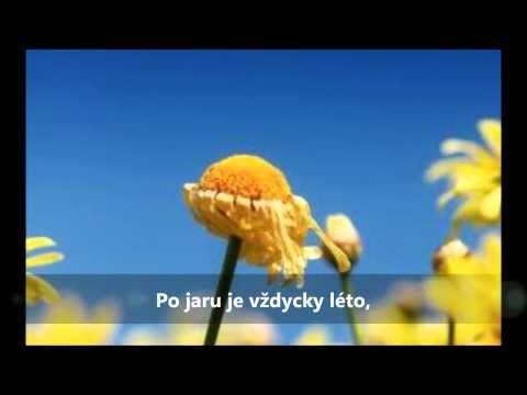 Jaro, léto, podzim, zima - karaoke - YouTube