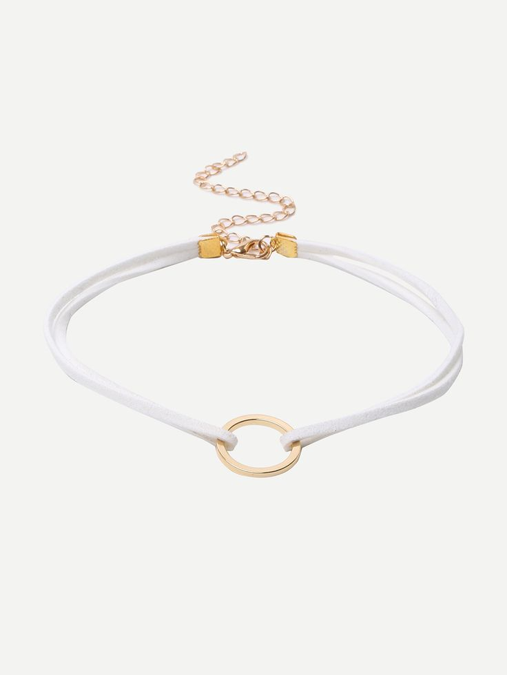 Shop White Minimalist Geometric Choker Necklace online. SheIn offers White Minimalist Geometric Choker Necklace & more to fit your fashionable needs.